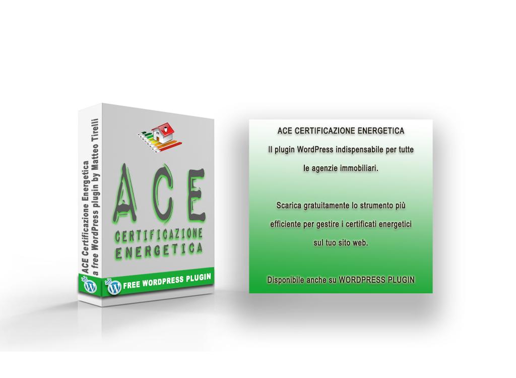 Rilasciato il mio nuovo plugin WordPress: ACE Certificazione Energetica