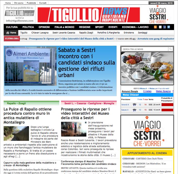 Tigullio News